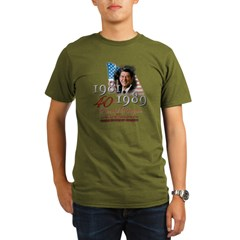 40th President - Organic Men's T-Shirt (dark)