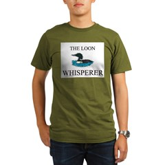 The Loon Whisperer Organic Men's T-Shirt (dark)
