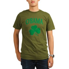 Irish Obama Organic Men's T-Shirt (dark)