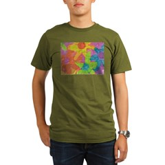 Spring Flowers Organic Men's T-Shirt (dark)