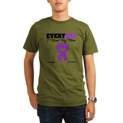 PancreaticCancerMom Organic Men's T-Shirt (dark)