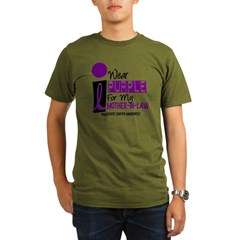 I Wear Purple For My Mother-In-Law 9 PC Organic Men's T-Shirt (dark)