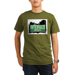 Intervale Av, Bronx, NYC Organic Men's T-Shirt (dark)