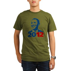Obama 2012 Organic Men's T-Shirt (dark)