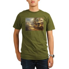 Lion of Judah Organic Men's T-Shirt (dark)