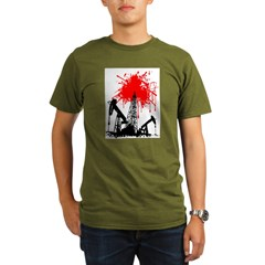 Oil of blood Organic Men's T-Shirt (dark)