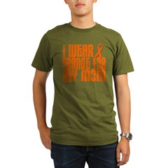 I Wear Orange For My Mom 16 Organic Men's T-Shirt (dark)