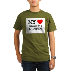 My Heart Belongs To A DENTIS Organic Men's T-Shirt (dark)