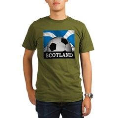 Football Scotland Organic Men's T-Shirt (dark)
