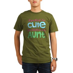 If You Think I'm Cute Organic Men's T-Shirt (dark)