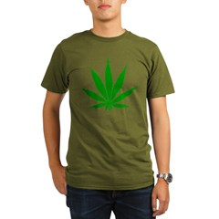 SWEET LEAF Organic Men's T-Shirt (dark)