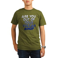 Out of Your Vulcan Mind Organic Men's T-Shirt (dark)