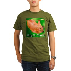 Hang In There! Organic Men's T-Shirt (dark)