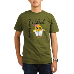 Dental Assistant Chick Organic Men's T-Shirt (dark)