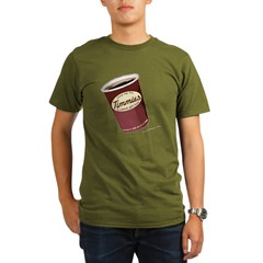 Give Me My Timmies Organic Men's T-Shirt (dark)