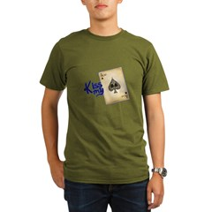 POKER Organic Men's T-Shirt (dark)