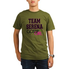 Team Serena Gossip Girl Organic Men's T-Shirt (dark)