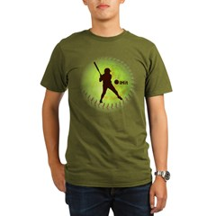 iHit Fastpitch Softball Organic Men's T-Shirt (dark)