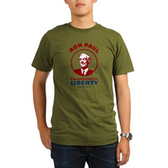 Campaigning for Liberty Organic Men's T-Shirt (dark)