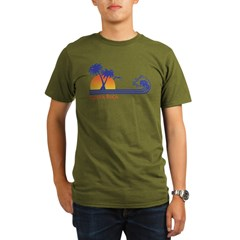 Costa Rica Organic Men's T-Shirt (dark)