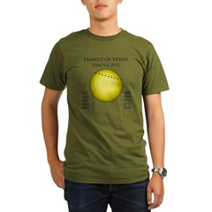 Transit of Venus Organic Men's T-Shirt (dark)