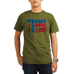 Obama-Biden Organic Men's T-Shirt (dark)