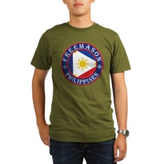 Filipino Masons Organic Men's T-Shirt (dark)