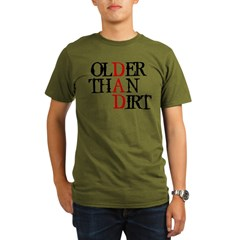 Dad - Older Than Dir Organic Men's T-Shirt (dark)