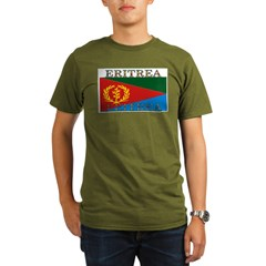 Eritrea Organic Men's T-Shirt (dark)