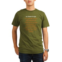 Archaeology 3 colors! Organic Men's T-Shirt (dark)