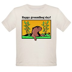 Happy groundhog day! Infant Creeper Organic Toddler T-Shirt