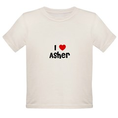 I * Asher Organic Toddler T-Shirt