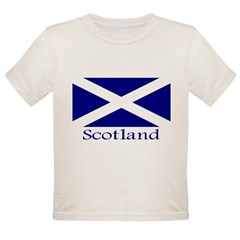 """Scotland"" Organic Toddler T-Shirt"