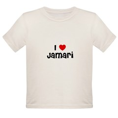 I * Jamari Infant Creeper Organic Toddler T-Shirt