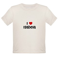 I * Isabela Organic Toddler T-Shirt