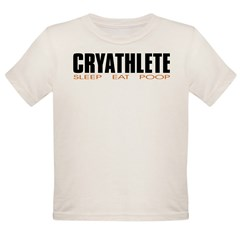 """Cryathlete"" Infant Creeper Organic Toddler T-Shirt"