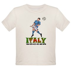 Italy2 Kids Organic Toddler T-Shirt