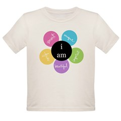 """i am..."" Organic Toddler T-Shirt"