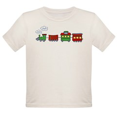 Choo Choo Kids Organic Toddler T-Shirt