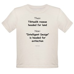 Intelligent Design Extinction Infant Creeper Organic Toddler T-Shirt
