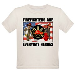 Firefighter Heroes Organic Toddler T-Shirt