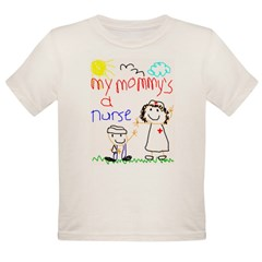 Nurse Mommy! Organic Toddler T-Shirt