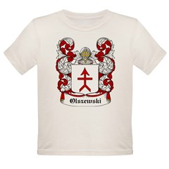 Olszewski Coat of Arms Infant Creeper Organic Toddler T-Shirt