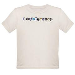 Coexistence Organic Toddler T-Shirt