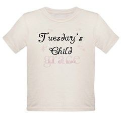 Tuesday's Child Kids Organic Toddler T-Shirt