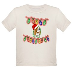 Merry Christmas Organic Toddler T-Shirt