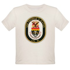 USS Thomas & Gates Organic Toddler T-Shirt