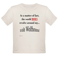 Wolfhound World Organic Toddler T-Shirt