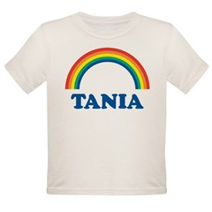TANIA (rainbow) Organic Toddler T-Shirt