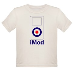 imod_white Organic Toddler T-Shirt